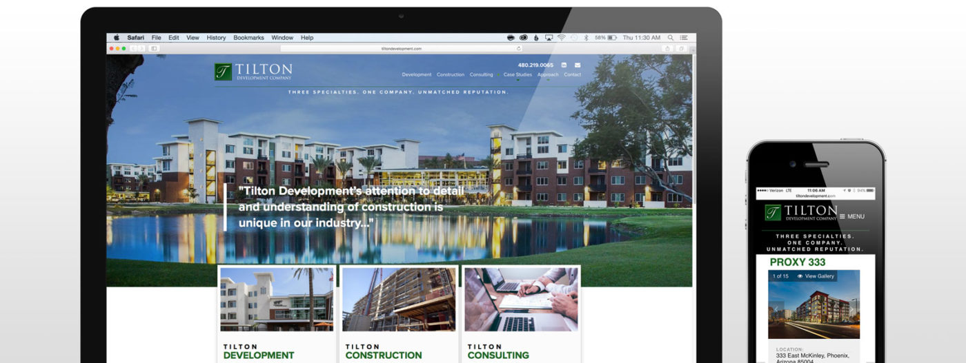 Tilton Development Website