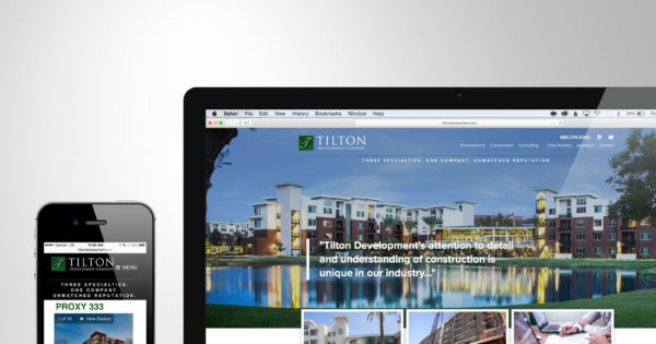 Tilton Development Company Website