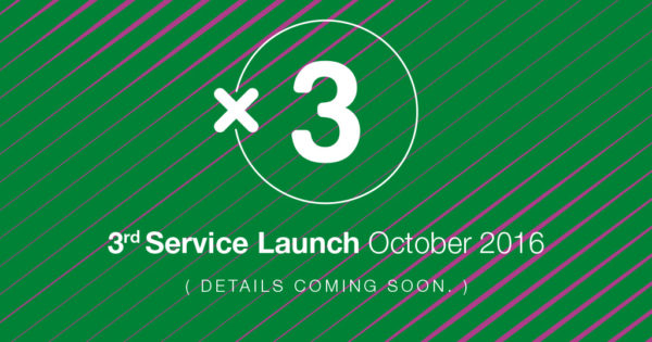 3rd Service Launch